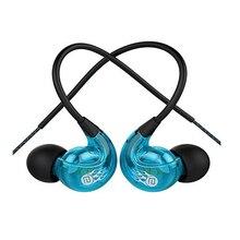 Langsdom SP90 New Waterproof Anti-sweat Anti-shedding in Ear Hanging Earphones Sports Headset with Mic Volume Control цена и фото