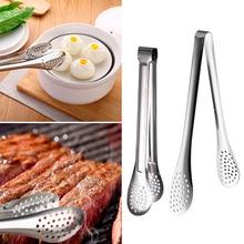Антипригарные щипцы для стейка, салат, Сервировочные инструменты из нержавеющей стали, пищевые щипцы для барбекю, кухонные щипцы, посуда для приготовления пищи, зажим, аксессуары