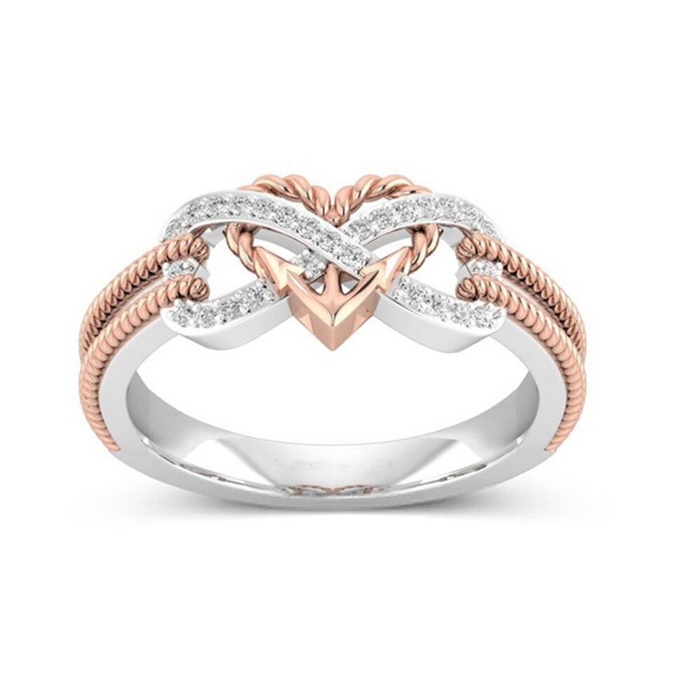 Hochzeit Ringe Einfache Schwarze Symbol Zwei Gekreuzte Ringe