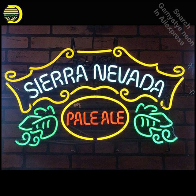 Personalized Neon Signs Inspiration Neon Sign For Sierra Nevada PaleAle Neon Bulb Sign Handcraft