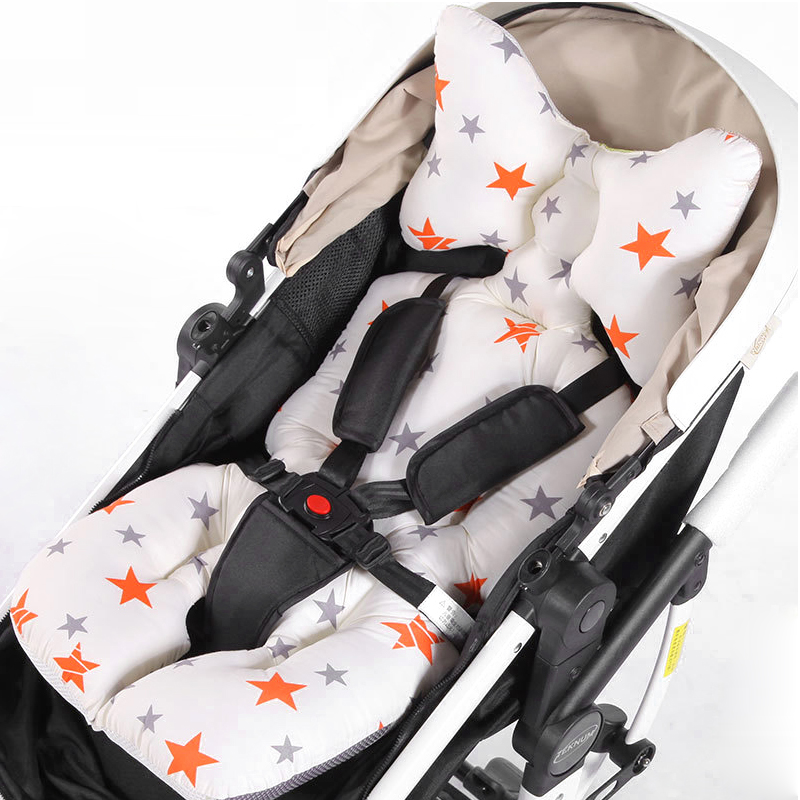 2019 Latest Design Baby Cartoon Animal Stroller Cushion Seat Cover Baby Diaper Pad Seat Pad Cotton Baby Stroller Mat Mattress Pram Stroller 2019 Strollers Accessories Activity & Gear