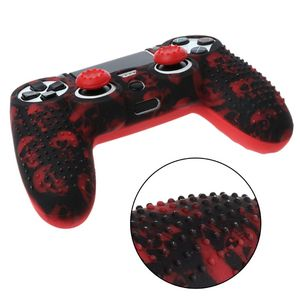 Image 5 - 7 Colors Anti Slip Silicone Protective Skin Case For PlayStation 4 PS4 DS4 Pro Slim Controller Thumb Stick Grip Caps