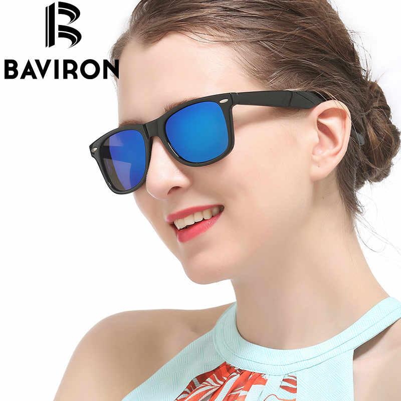 7d08d7a63d BAVIRON Convex Lenses Vintage Sunglasses Polarized Sunglasses Unisex Oval  Casual Glasses Lime Green Durable Eyewear 55