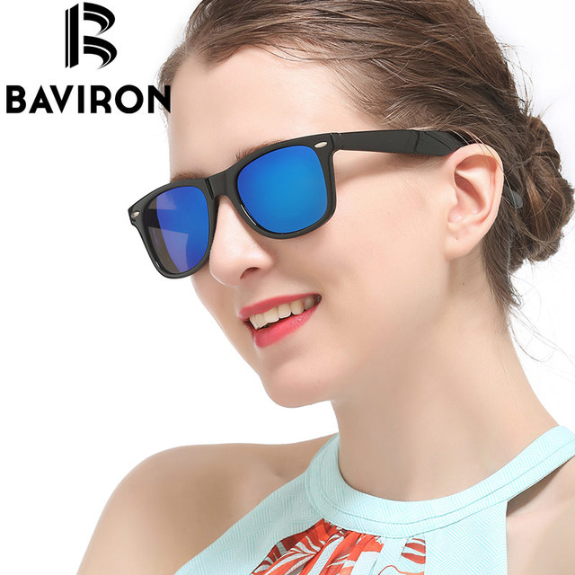 c4070c25d3 BAVIRON lentes convexos Vintage gafas de sol polarizadas Unisex Oval Casual gafas  verde lima Durable gafas