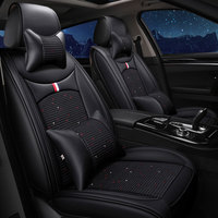 (front rear ) luxury leather car seat covers pad automobiles cushion for subaru impreza tribeca xv sti forester legacy outback