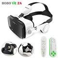 Оригинальный BOBOVR Z4 кожаный 3D картонный шлем виртуальной реальности VR очки гарнитура стерео коробка BOBO VR для Android смартфона 4-6'