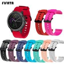 FIFATA 20 мм ремешок для Garmin Vivoactive 3 Venu Forerunner 245/245M/645 Смарт-часы браслет ремешок для Samsung Galaxy 3 41 мм