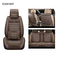 Housses de siège de voiture en lin pour ssangyong action kyron korando rexton pour suzuki swift jimny sx4 accessoires Auto protection de siège de voiture