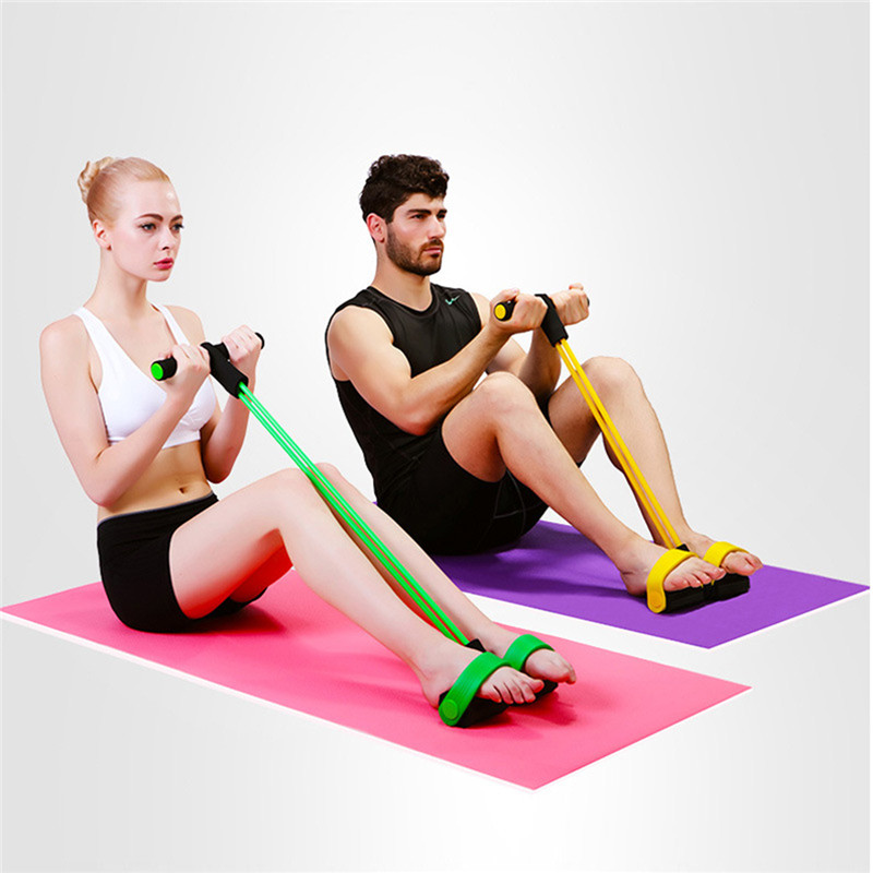 FZCSPEED Resistance Bands Body Fitness Resistance Band Elastic Exercise Equipment For Yoga Pilates Workout Yoga Sport Pedal Pull