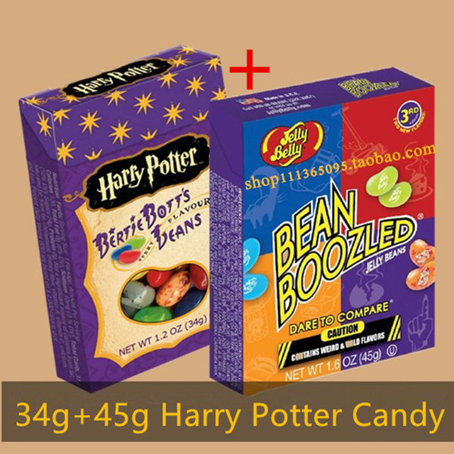Jelly Beans Bean Boozled 2 Süßigkeitskästen Harry Potter Seltsame