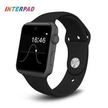 Interpad DM09 Bluetooth Smart Watch 2.5D HD Screen Support SIM Card SmartWatch For Apple Phone Watch Android Clock PK GT08