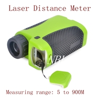Portable 6X Laser Distance Meter Telescope Range Finder Rangefinder Rangefinders Distance 5 900M Golf Camp Hunting