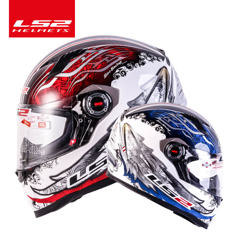 Original LS2 FF358 full face motorcycle helmet hjelm helma capacete casque moto LS2 high quality helm ECE approved no pump original ls2 ff353 full face motorcycle helmet high quality abs moto casque ls2 rapid street racing helmets ece approved