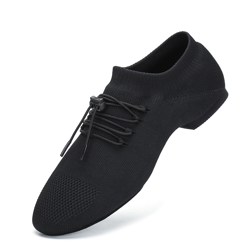 Summer Breathable Dance Shoes Latin Jazz Shoes Woman Indoor Modern Dancing Shoes Ladies Mesh Sneakers Party Shoes For Women