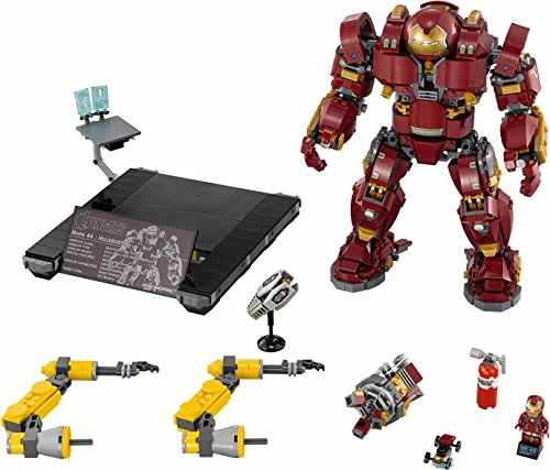 Marvel Hulkbuster Avengers Iron Man Hulk Buster 07101 Super Heroes Compatible with Legoings 76105 Building Kit Block Toys