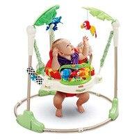 Многофункциональный Электрический Детские прыжки Walker Колыбель Rainforest детские качели Бодибилдинг кресло качалка Lucky Child качели 3 месяцев до 2