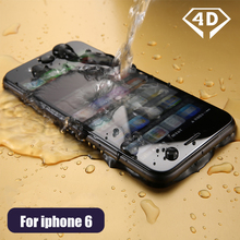 CHYI 4D Tempered glass For iphone 7 glass 9h hardness explosion proof full coverage for iphone 6s screen protector