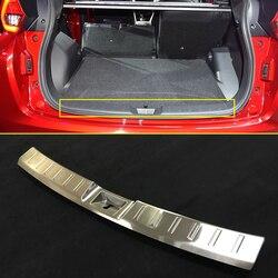 Accessori Per auto Posteriore Tronco Paraurti Protezione della protezione Piastra di Stampaggio Acciaio Inox Per Mitsubishi Eclipse Croce 2018