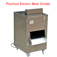 Stainless Steel QC Meat Cutting Machine Electric Meat Slicer Practical Meat Grinder Machine Kitchen Equipment 220V/110V