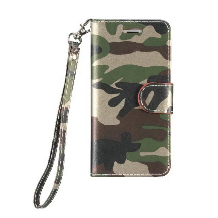 purchase cheap 32f29 5c469 US $9.99  LANCASE For iPhone 6S Case Camouflage Flip Army Wallet Stand PU  Leather Case For iPhone 6 6 Plus 6S Plus Cover Camo Card Lanyard-in Flip ...