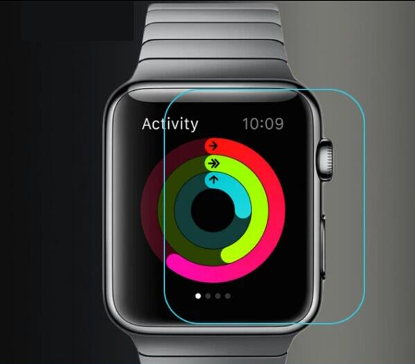 9H Premium Tempered Glass For Apple watch 38mm 42mm Glass Screen Protector For iwatch 38mm 42mm 100pcslot