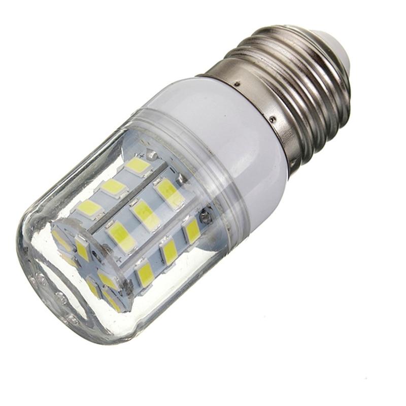 E27 LED Corn Light Bulb 27LEDs SMD5730 Super Bright Energy Saving Lamp Lights Spotlight Bulb Lighting DC12V White/Warm White super bright 120w led corn bulb 9000lumen e40 led light smd5730 ac85 265v warm white corn lamp 10pcs lot