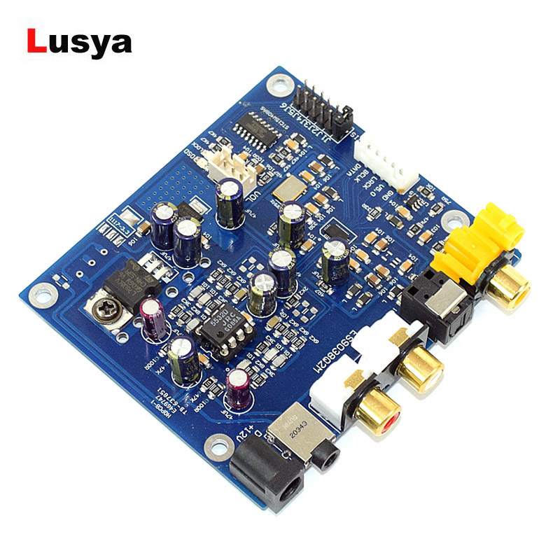 Accessories & Parts Es9038 Q2m I2s Dsd Optical Coaxial Input Decoder Usb Dac Headphone Output Hifi Audio Amplifier Board Module Street Price Operational Amplifier Chips