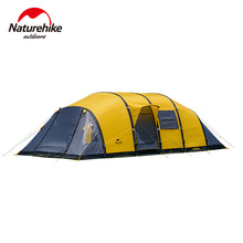 NatureHike 4 6 7 8 9 10 Person Huge Family Party Base Hiking Travel Cycling Mountaineering Relief Beach Outdoor Camping Tent