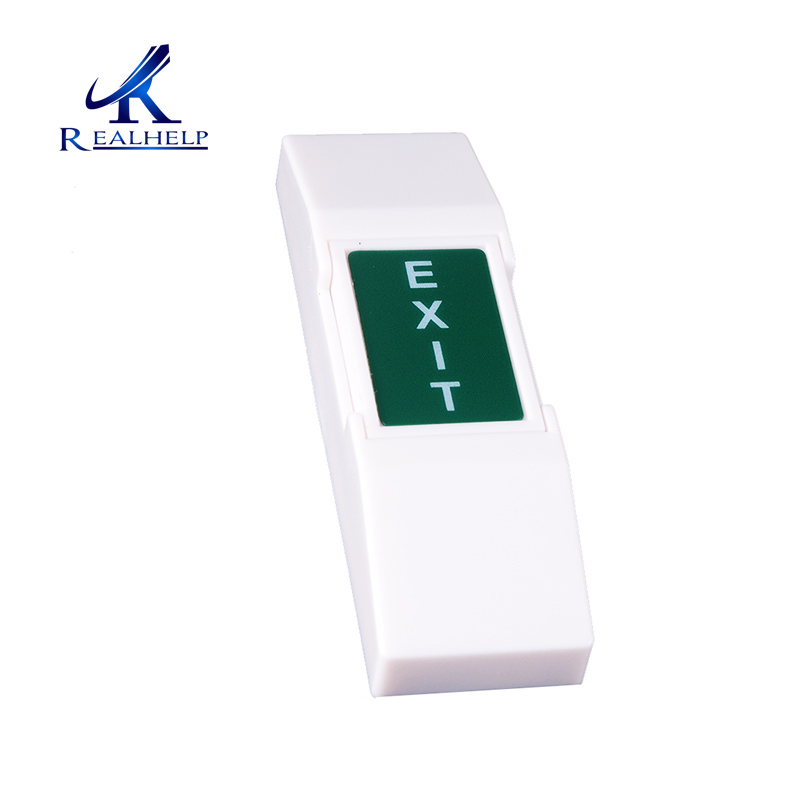 Switch Exit Door Button In Access Control Accessories For RFID Smart Card Reader Standalone Access System