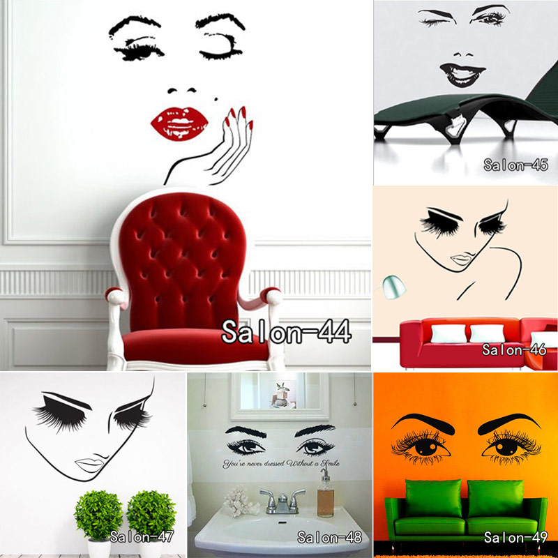 3d Fenêtre Effet Autocollant Mural Art Mural Autocollant Souple et l/'encre machine Alice