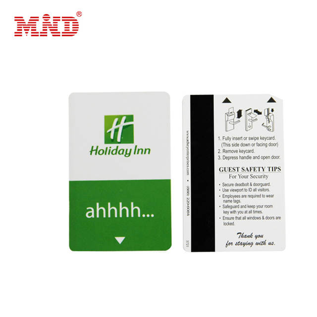 Customized Design Printed HICO/LOCO Printing Rfid Magnetic Hotel Door Lock  Card