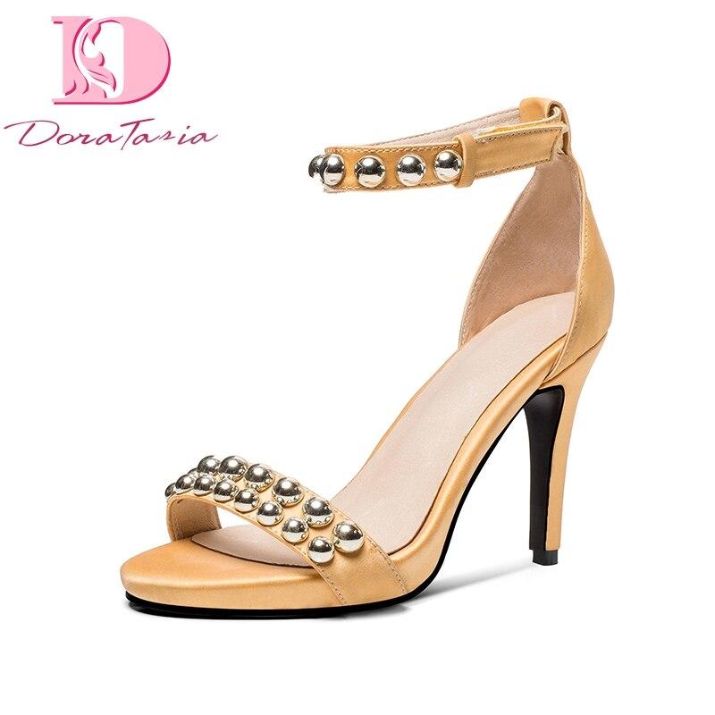 nuevo estilo de vida nuevo autentico venta caliente más nuevo doratasia marca diseño tallas grandes 33 44 zapatos de mujer ...