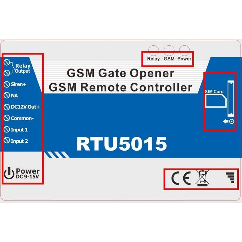 Dual band Automatische GSM Tor Tür Garagentoröffner Betreiber ...