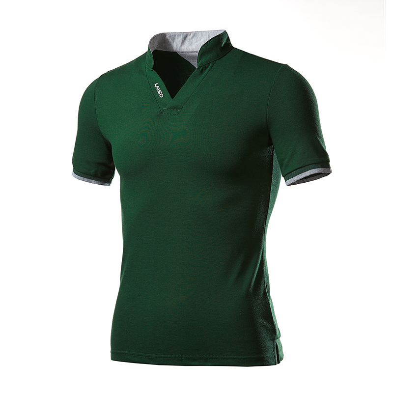 Men Summer Camisa Polo Short Sleeve Polo Shirt Breathable Tees S 5XL in Polo from Men 39 s Clothing