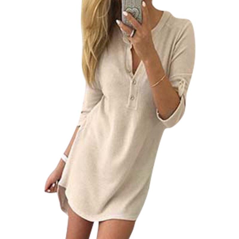 Fashion Warm Knitted Autumn Dresses Women Sweater Winter Dresses V-Neck Casual Mini Dresses Elegant Dresses LJ7214M fashion elegant m