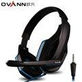 Ovann auriculares Sobre la oreja Marca Profesional Gaming Headset HIFI Bass Auriculares En oído con micrófono auriculares estéreo bass para ps4 xbox pc Mu
