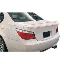 For BMW E60 05-08 A Sedan 4 Door Style Carbon Fiber Rear Trunk Spoiler Replacement 2005 2006 2007 2008[QP73]