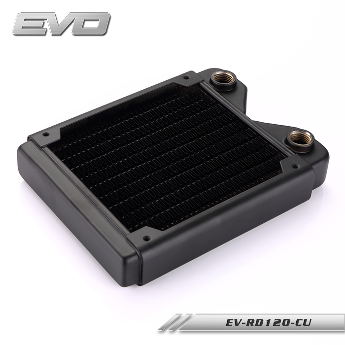 EVO EV-RD120-CU 120 Copper water heat exchanger heat rejection row of copper row for PC water cooling environmentally friendly pvc inflatable shell water floating row of a variety of swimming pearl shell swimming ring