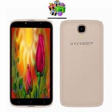 """Bylynd X6 Android 6.0 barato celular Cámara Luz de relleno smartphones 5.0 """"China desbloqueado teléfonos móviles 3G WCDMA Delgado 1g ram"""