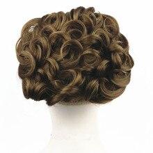 Strongbeauty Chignon Женская Комбс легко зажим для волос Большой волосы булочка Синтетические парик 13 цветов