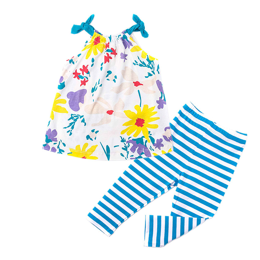 Beautiful Girls Clothing Sets for Kids Cotton Baby Kids Children Clothing Girls Infant Baby Toddler Clothes Suit 18M-6T baby romper sets for girls newborn infant bebe clothes toddler children clothes cotton girls jumpsuit clothes suit for 3 24m