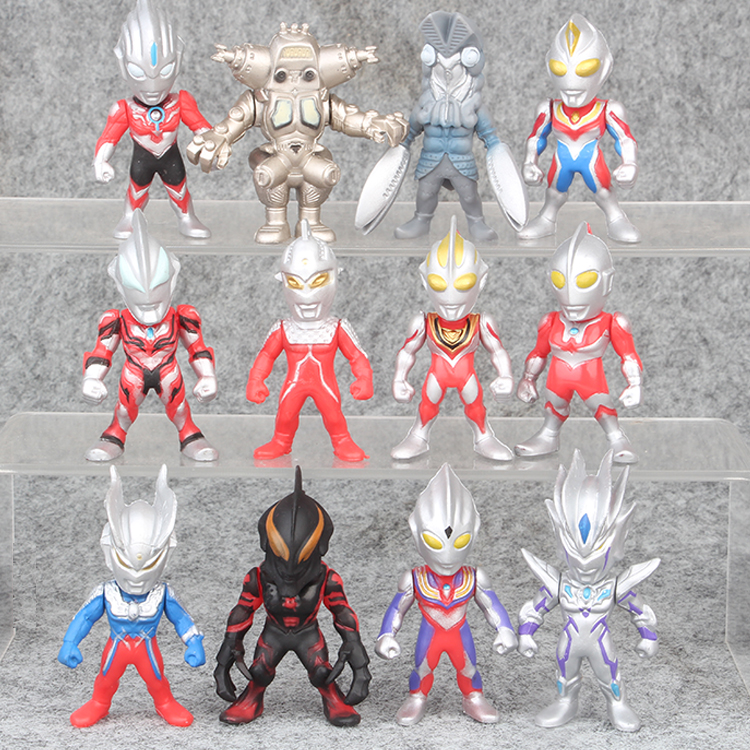 Action & Toy Figures 17 Cm Ultraman Toy Gurlant King Soft Glue Monster Joint Movable Childrens Boy Toy Victorukiel El Soft Glue Monster
