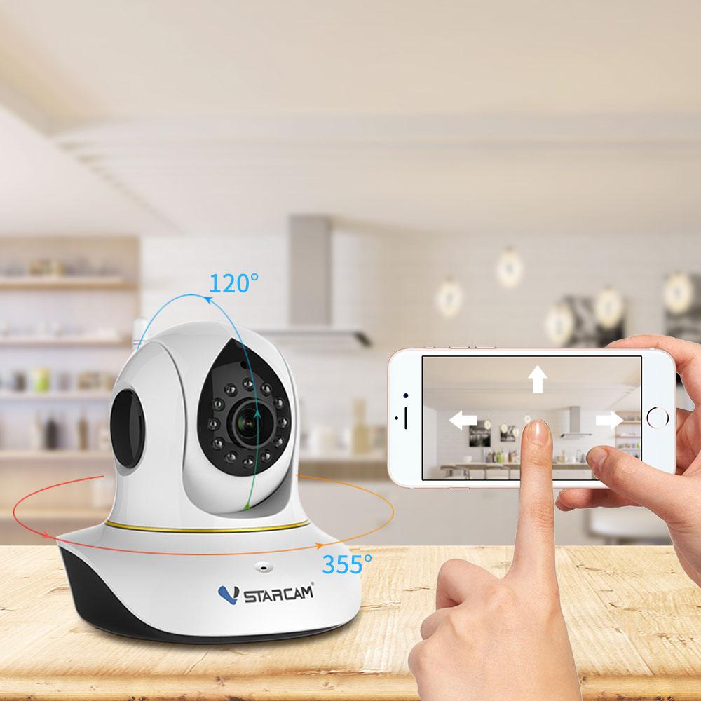 Vstarcam C38S 1080P Full HD უკაბელო IP - უსაფრთხოება და დაცვა - ფოტო 2