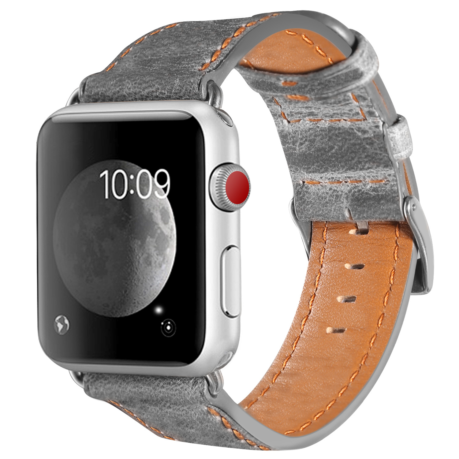 2018 Retro Handmade Genuine Leather Band for Apple Watch 1 2 3 Series 38mm 42mm Strap  for Iwatch Band Bracelet Belt Leather New woven canvas casual sports watch band iwatch strap genuine leather watch belt for apple watch