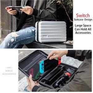 Image 4 - Bolso de mano para Nintendo Switch, funda de almacenamiento resistente al agua, antiarañazos, a prueba de golpes, para Nintendo Switch Joy, novedad de 2019