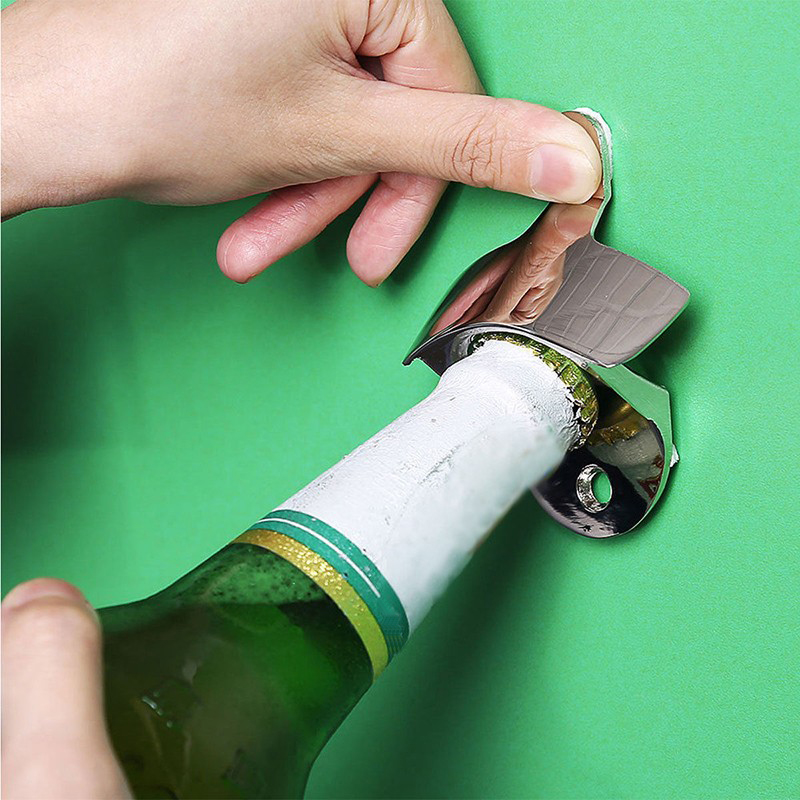 Stainless Steel Wall Mounted Opener 5