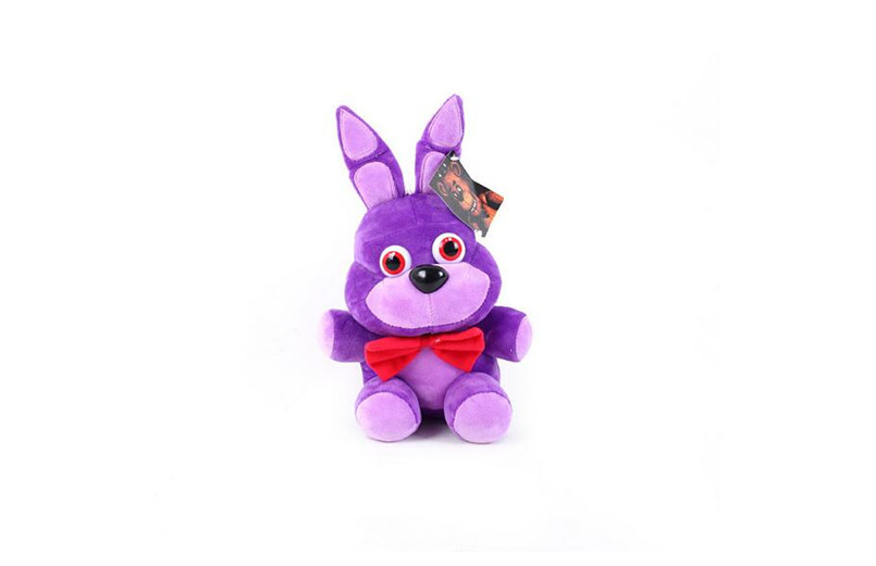 new 1pieces/lot 25cm 1style plush Bonnie china foxy freddy doll toy Furnishing articles Children's gift 1pieces lot 4921qp1024a 4921qp1024 a yppd j007a yppd j007a yppd j007c 2300kck004a