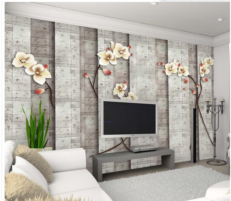 murales de pared d wallpaper europea retro flores murales wallpaper decoracin casera