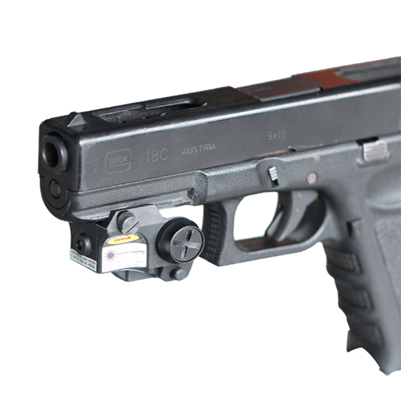 Subcompact pistol 635nm red laser sight for glock pistol red laser sight