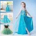 Princesa Vestido Da Menina Criança Vestido Da Menina Do Bebê Para 2-10 Anos Marca Crianças Vestido Da Menina de Cosplay Traje Do Partido Roupas Vestidos Meninas